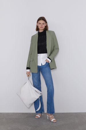 Zara Mujer Sacos - Blazer bolsillos