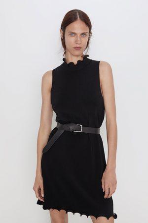Zara Mujer Vestidos - Vestido punto ondas