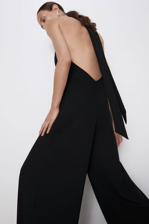 Zara Mujer Largos - Mono halter