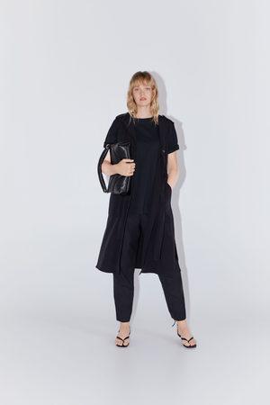 Zara Mujer Chalecos - Chaleco vestido botones