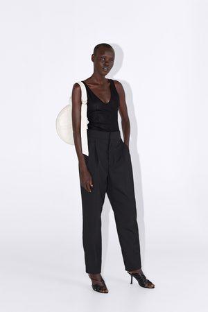 Zara Mujer Body - Body semitransparente