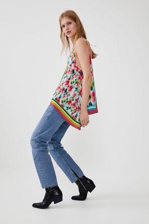 Zara Mujer Camisas - Cuerpo estampado