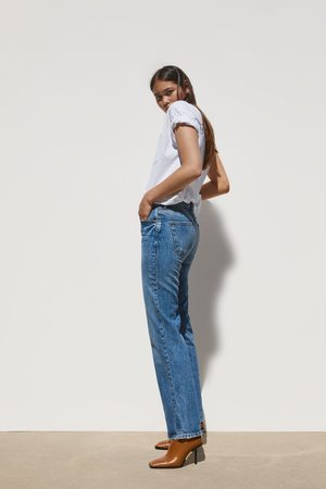 Zara Mujer Acampanados - Jeans zw premium bootcut true blue