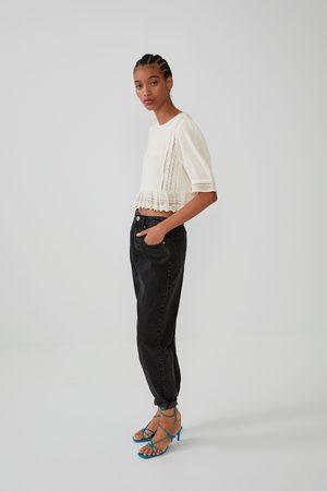 Zara Mujer Camisas - Cuerpo bordados
