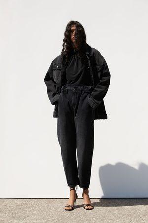 Zara Jeans z1975 baggy bolsillos