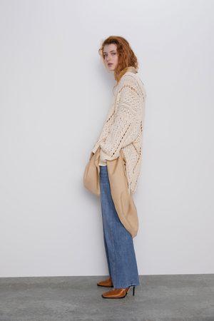 Zara Mujer Suéteres - Jersey punto desagujado