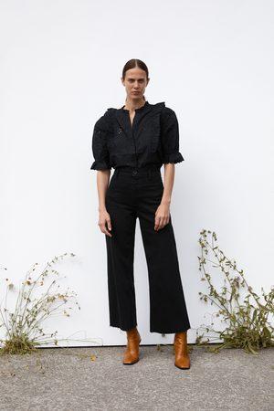 Zara Mujer Rectos - Jeans zw premium marine straight