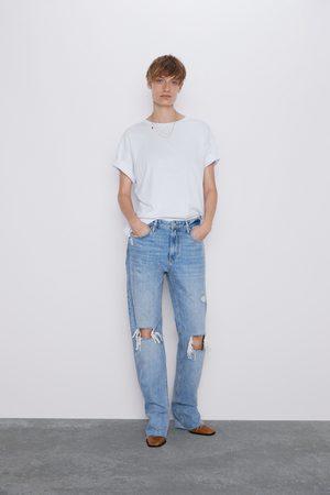 Zara Mujer Rectos - Jeans zw premium straight misty blue
