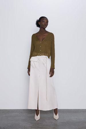 Zara Cárdigan textura