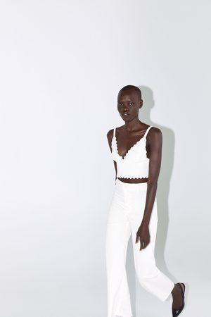 Zara Mujer Tops - Top punto ondas