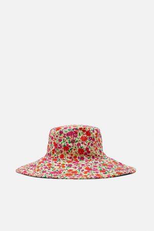 Zara Sombrero bucket estampado