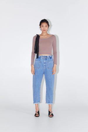 Zara Mujer Anchos y de harem - Jeans z1975 baggy