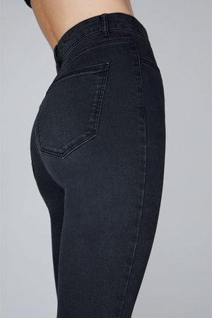 Zara Mujer Jeggings - Jegging hi rise super elastic rotos