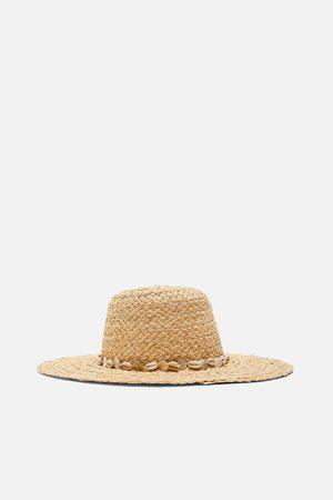 Zara Mujer Sombreros - Sombrero conchas