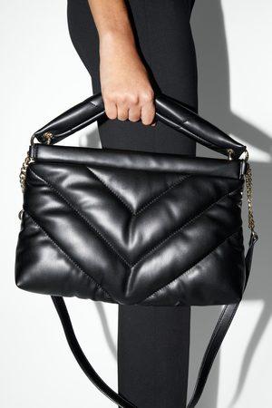 Zara Mujer Bolsas crossbody - Bandolera maxi acolchada