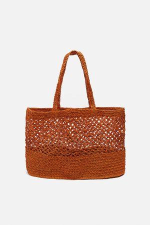 Zara Mujer Carteras y Monederos - Bolso shopper red
