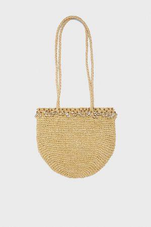Zara Mujer Carteras y Monederos - Bolso shopper conchas