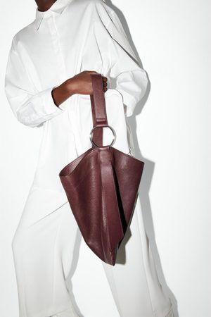 Zara Bolso shopper piel plano