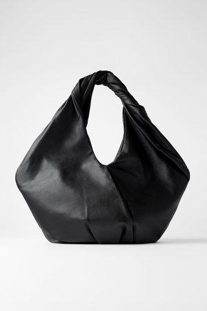 Zara Bolso shopper piel ovalado