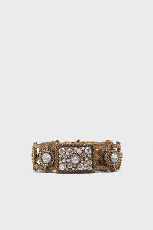 Zara Mujer Cinturones - Cinturón metálico joyas