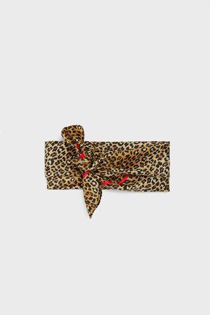 Zara Mujer Pashminas - Pañuelo estampado animal