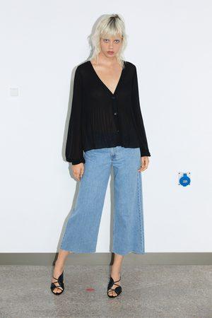 Zara Camisa plisada