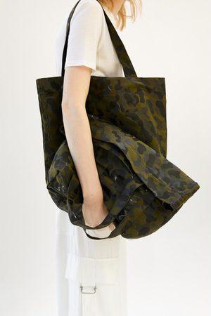 Zara Mujer Bolsas - Bolso shopper camuflaje