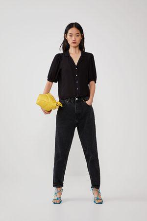 Zara Camisa fluida volumen