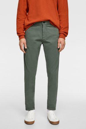 Zara Hombre Chinos - Pantalón chino premium