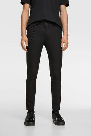 Zara Hombre Slim y skinny - Pantalón super skinny cadena