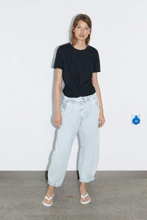 Zara Camiseta cruzada