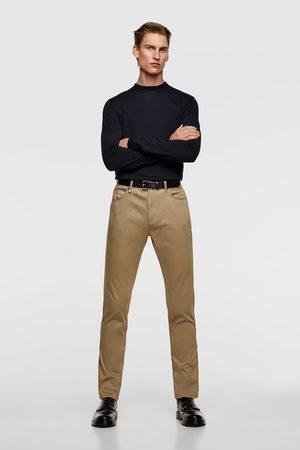 Zara Hombre Slim y skinny - Pantalón skinny color