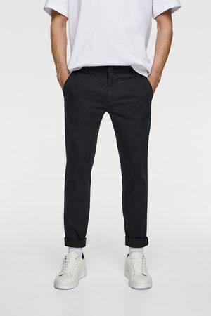 Zara Hombre Chinos - Pantalón chino skinny