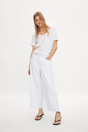 Zara Camiseta pico