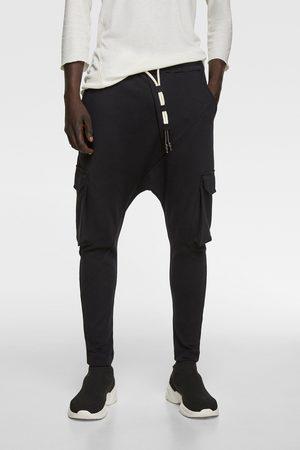 Pantalones Anchos Y De Harem Zara Pantalon Mezclilla Para Hombre Fashiola Mx