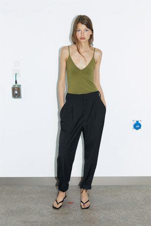 Zara Mujer Tops - Top tirantes