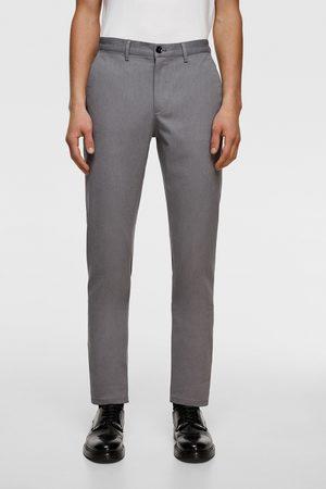 Zara Hombre Chinos - Pantalón chino slim
