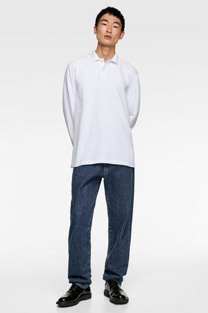 Zara Hombre Polos - Polo piqué manga larga