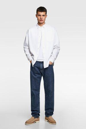 Zara Hombre De mezclilla - Camisa denim básica