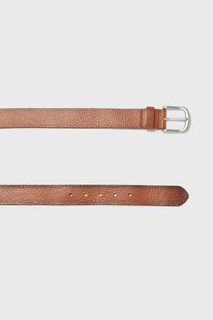 Zara Cinturón piel vintage