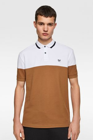 Zara Polo color block