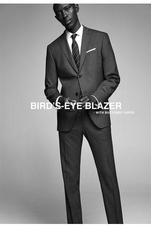Zara Hombre Sacos - Blazer conjunto ojo de perdiz
