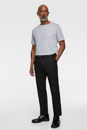 Zara Hombre Playeras - Camiseta básica regular fit