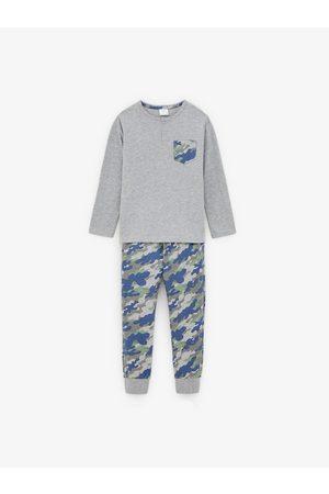 Zara Pijama camuflaje