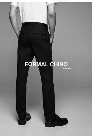 Zara Pantalón chino slim