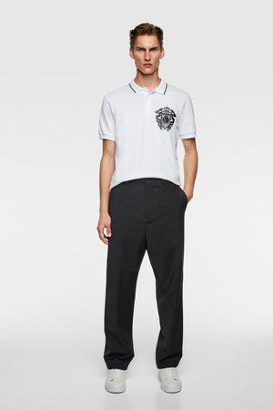 Zara Polo escudo combinado