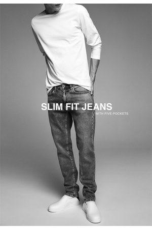 Zara Hombre Skinny - Jeans slim básico