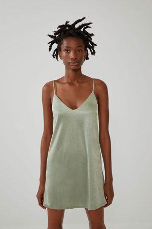 Zara Vestido lencero