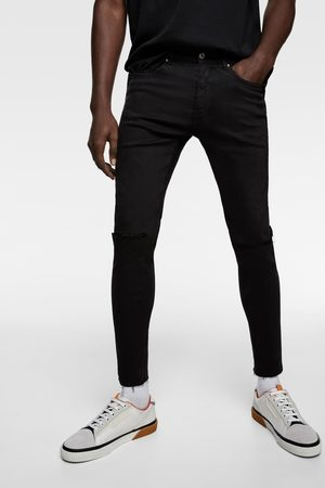 Zara Jeans superskinny rotos