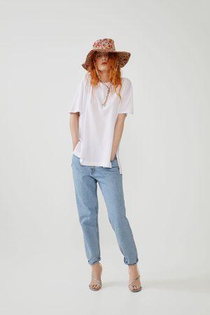 Zara Camiseta oversize